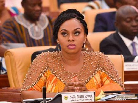 There is dignity in hard work – Adwoa Safo to kids as she condemns Kasoa killing