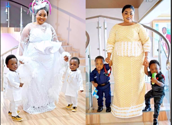 cedfbd7a4bc456ee9b5e987d9ee3a23b?quality=uhq&resize=720 - Did You Ever Know That Osofo Kyiri Abosom Own Twins? Check Out Their Cute Looks (Photos)