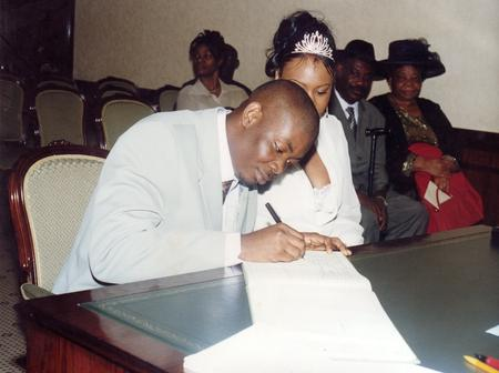 Photos From Donjazzy Wedding From 20 years Ago