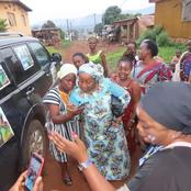 Législatives 2021 : voici ce que la fille du Gl Gueï Robert a fait à Biankouma qui fait