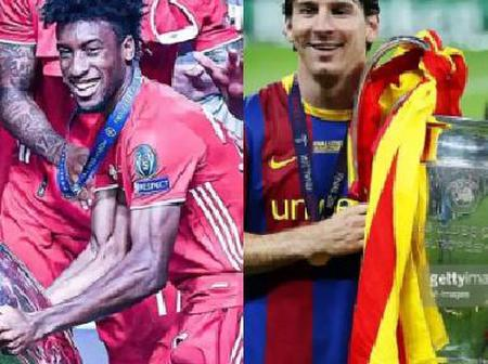 Kingsley Coman is now the second youngest player after Lionel Messi to be named MOTM in UCL final