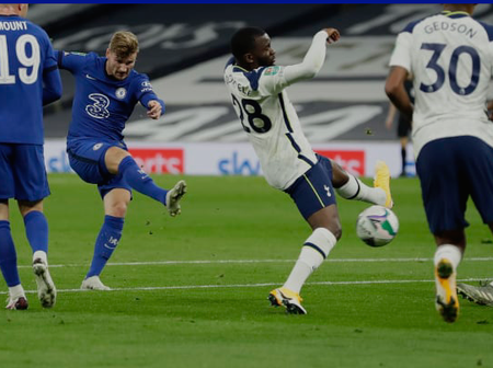 Chelsea man of the match against Tottenham Hotspurs