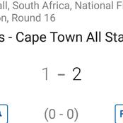 Cape Town All Stars impressed with a 2-1 win against JDR Stars in latest fixture.(Opinion)