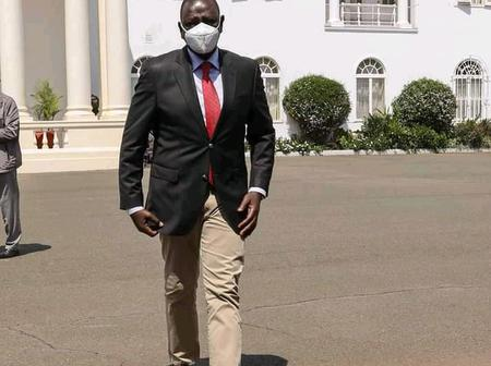 DP Ruto is a Man in war at Jubilee party HQ
