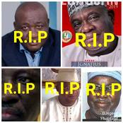 Photos Of 5 Nigerian Senators Who Died While In Office