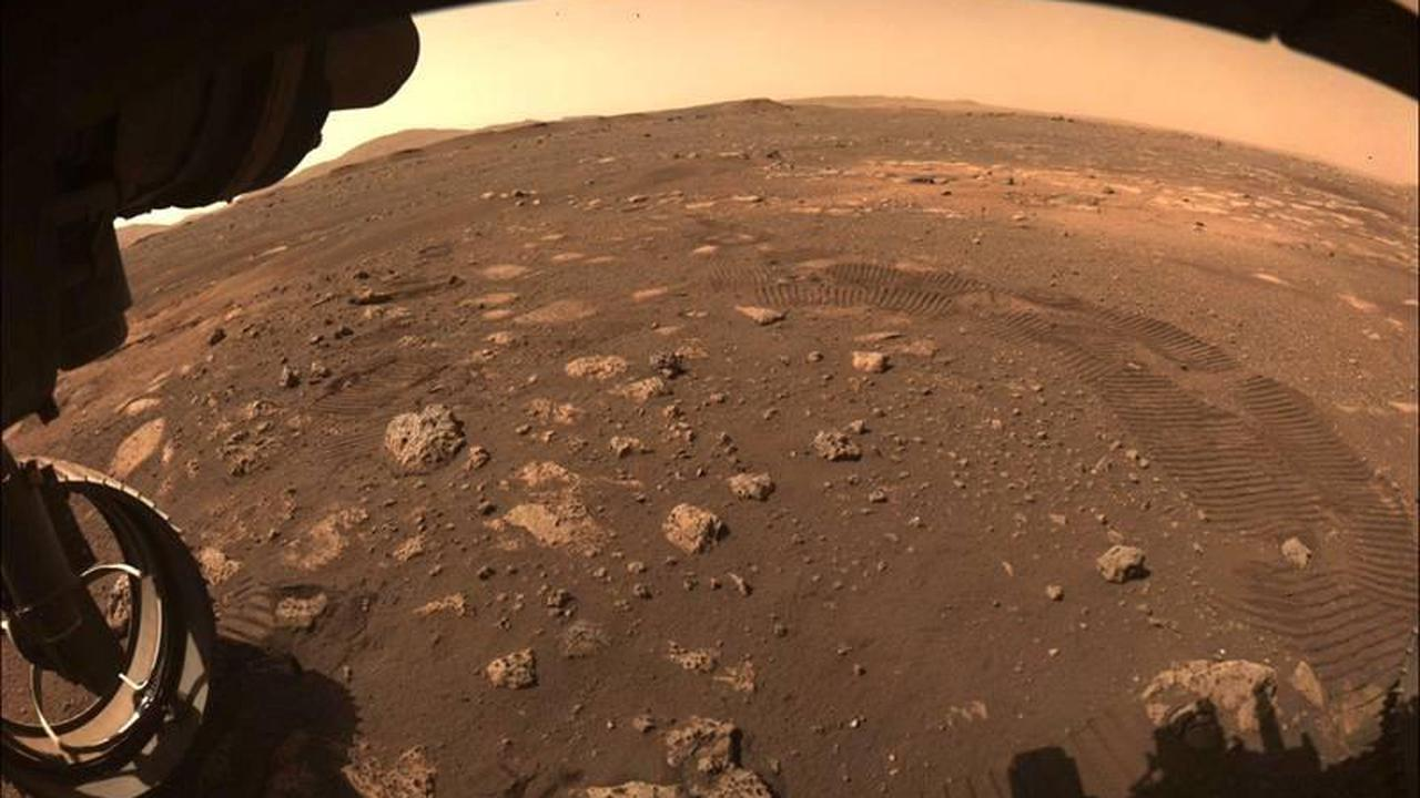 NASA's Perseverance rover on a roll on Mars, sends its footprints to Earth
