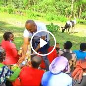 Shame! Online Uproar as This Video of UDA Party Allegedly Bribing Voters in Kiamokama Ward Surfaces