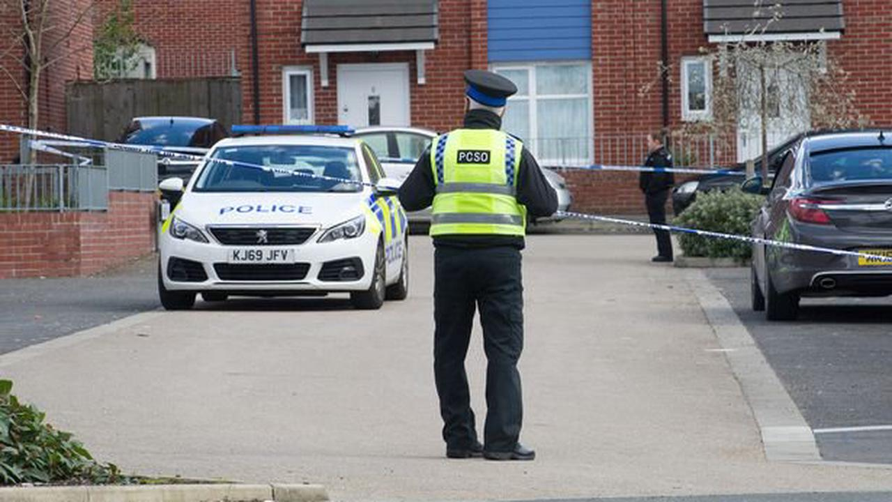 Hunt for 21-year-old as man fights for his life after a double stabbing