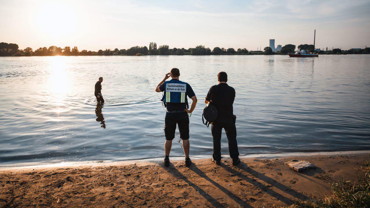 Drei Mädchen im Rhein untergegangen!