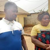 See The Blind Fraudster Who Scam People By Spitting Into Their Palms Arrested In Obosi, Anambra