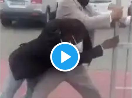 Video: John Prohibits Man From Entering At The Gate- Says Twitter