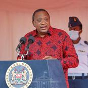 President Kenyatta Tells Those Campaigning To Become Leaders To Stop Using Government Projects
