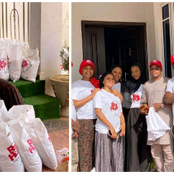 It Feels So Fulfilling Donating A Fraction Of What You Have To Less Prievileige-Rahama Sadau