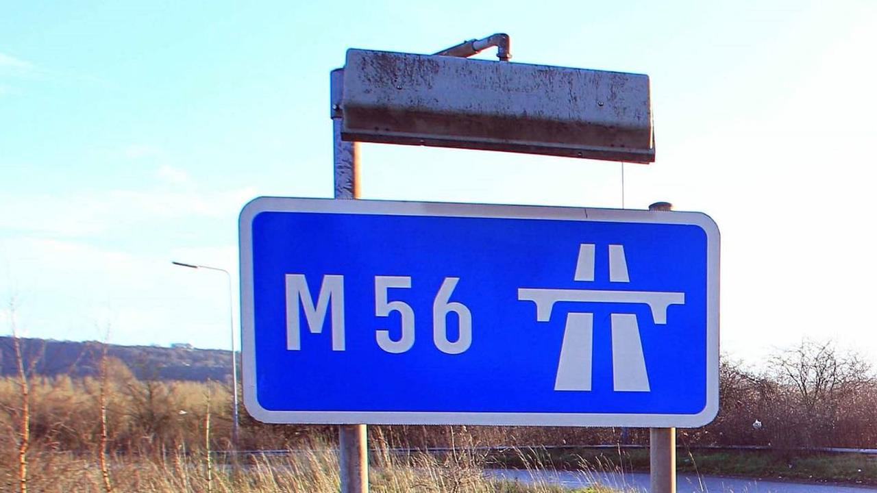 LIVE: M56 delays in Cheshire after multi-vehicle crash