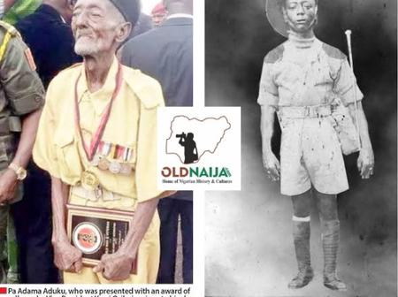 Meets Pa Adama Aduku, The Former Oldest Nigerian Soldier Who Fought in World War II