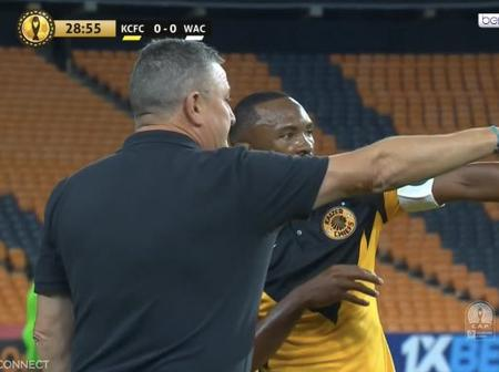 People are talking about the Connection between Kaizer Chiefs Coach Hunt and Player Benard Parker
