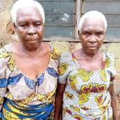 Social Buzz : Meet The Oldest Known Identical Twins Alive In Ghana - See Pictures