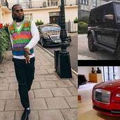 Nigerian Grammy Award Winner, Burna Boy Shows Off Expensive Car Collection In His Garage (Pics/Vid)