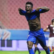 UEFA names Nigerian Obafemi Martins, among the youngest players to score more goals in UCL (Photos)