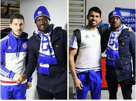 See Throwback Photos Of Psquare With Chelsea Players