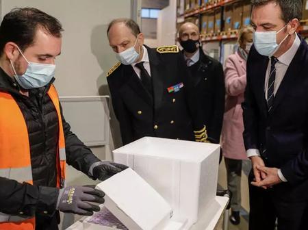 France : le transport des vaccins contre le Covid-19 placé sous très haute surveillance