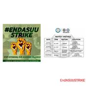 EndASUUSTRIKE:Stop Extending Our Academic Calendar; SU Releases Time Table For Protest.(Photos)