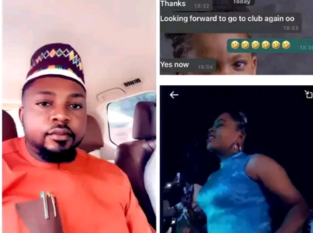 A Man Reveals What His Wife Sent To Him After He Took Her To A Night Club For The First Time