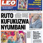 Today's Newspaper Headlines
