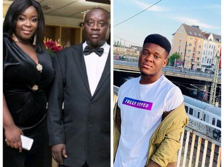 Meet The Handsome Father Of Maame Serwaa And Her Boyfriend