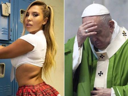 Remember The Model Who Pope Francis Allegedly 'Like' Her Picture, See Her Stunning New Photos