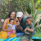 Meet Orlando Pirates Star, Thulani Hlatshwayo's beautiful family. See their adorable pictures.