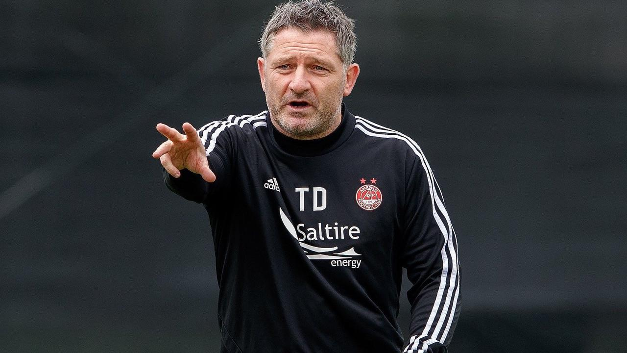 Ex-Aberdeen No2 Tony Docherty to assist Gary Irvine at Forfar until the summer