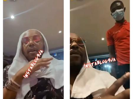 Popular Nigerian Celebrity Was Blasted After He Told a Waiter That