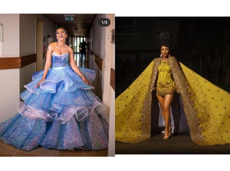 Mercy Eke's Coming To America's Outfit Vs Her AMVCA's Outfit - Which Is The Best?
