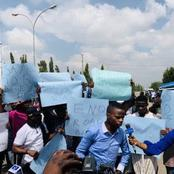 Not EndSARS Nor ProSARS: Another Group Of Protesters Stormed Police Headquarters With Its Demand