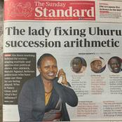 Netizens React to the Ongoing Talk of 'Lady Fixing Uhuru Succession Arithmetic' on Social Media