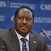 Raila Finally Breaks Silence Amid Rising Tension in Handshake With Sad Message