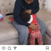 See Size 8's Reply To DJ. Moh after He Enquired When Their Son Will Stop To BreastFeed