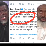 """""""Minister Of Banditry Affairs""""- Reno Omokri Ridicules Gumi Sheikh Over His Advice To Nigerians"""