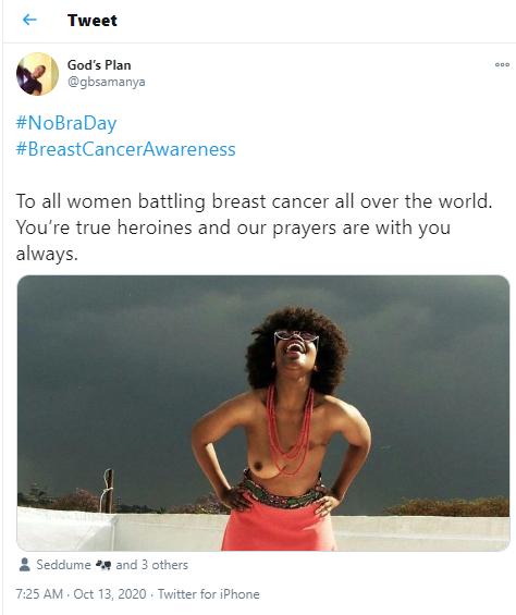 #No Bra Day: Women around the world showcase their boobs as they go bra-free (18+photos)