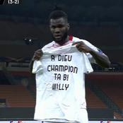 Football:voici le vibrant hommage de  Franck Kessié à Ta bi Willy