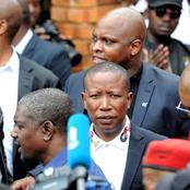 Malema has landed himself in Hot Soup here, see this?