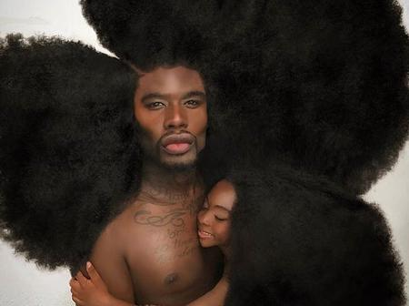 He started growing his hair at age 13. Meet Benny Harlem and his daughter.