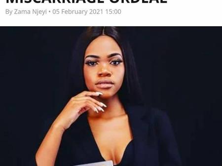 Former Idols Star Nqobile Shares Her Painful Traumatic Story Of Miscarriage