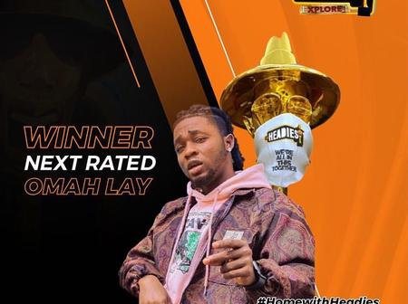 Omah lay wins Next rated Artiste: Checkout the list of other Artiste who won the Headies Awards.