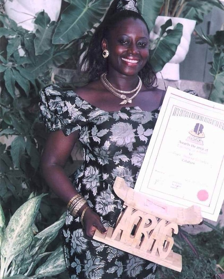 cfb6f8de586af5c8d6358a64e23554d9?quality=uhq&resize=720 - God of wonders: How Mama Zimbie moved from receiving Black & White TV award to an International awards (Photos)