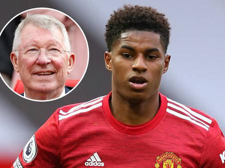 See the Advice Sir Alex Ferguson gave To Marcus Rashford