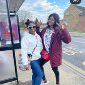 Actress, Bukola Olatunji Who Arrived In London Yesterday, Shares Lovely Photos Of Her Family Today.