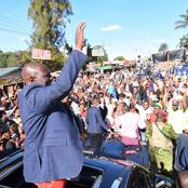 Ruto Brings Business To A Standstill As He Expounds 'Hustler' Narrative In Waithaka