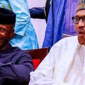 Take a look at what Muhammadu Buhari said about Osinbajo as he celebrates his 64th birthday today